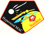 mission patch Stardust