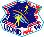 mission patch 1999 Leonid MAC