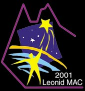 mission patch 2001 Leonid MAC