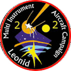 mission patch 2002 Leonid MAC